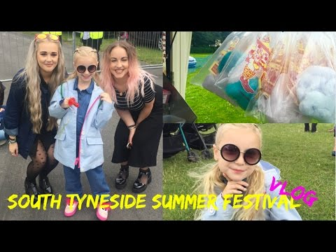 Vlog : South Tyneside Summer Festival | LoveFings