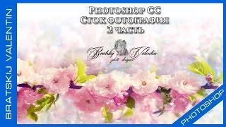 Photoshop CC Сток фотография 2 часть