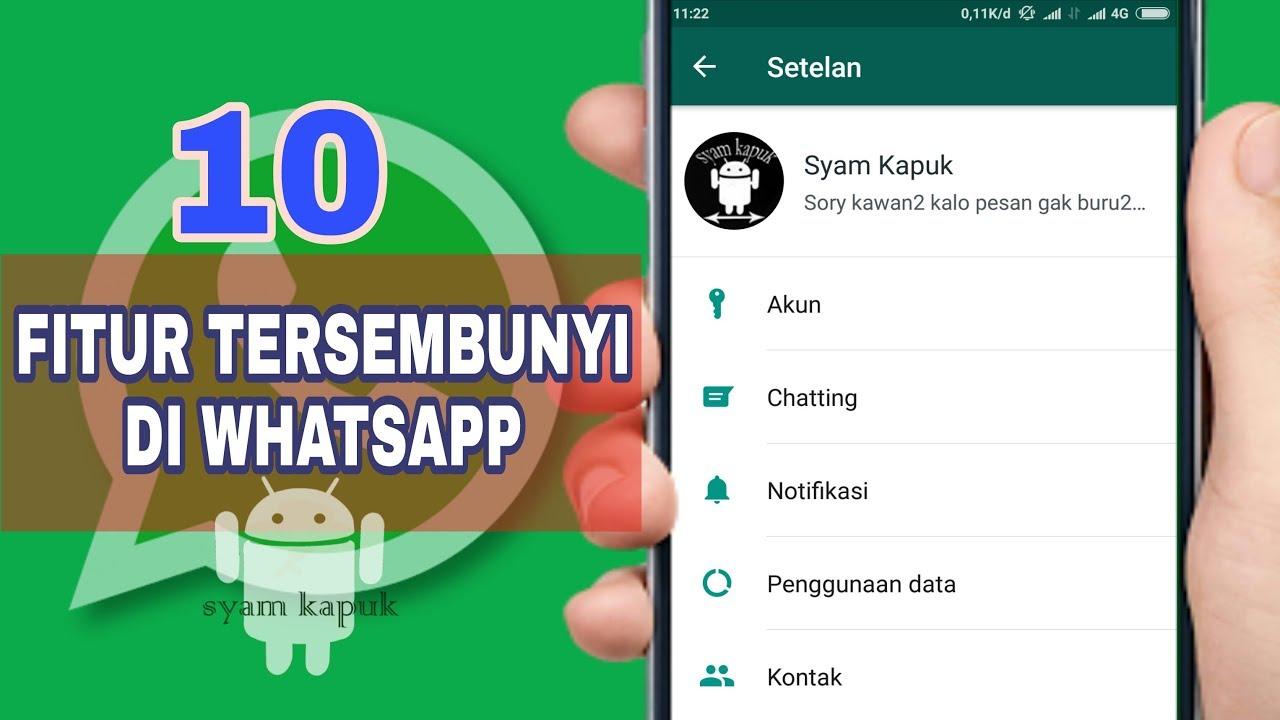 Cara Baru Mengembalikan Chat Whatsapp Yang Terhapus Sebelum Di Backup Youtube