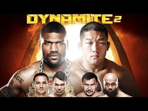DYNAMITE 2 LIVE Weigh-Ins