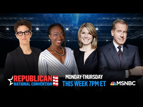 Watch Live With Analysis: Republican National Convention Day 2   MSNBC