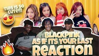 Baixar BLACKPINK - '마지막처럼 (AS IF IT'S YOUR LAST)' M/V - REACTION