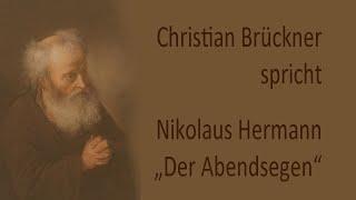 """Nikolaus Hermann – """"Der Abendsegen"""" (1560)"""