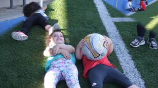 VISITA CAMP FUTBOL CURS 2016-17 ESCOLA BRESSOL L`ESQUITX