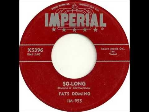 Fats Domino - So Long - November 30, 1955