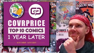 Covrprice Top 10 Comics - Where Are They Now - 1 Year Later - 6-23-21