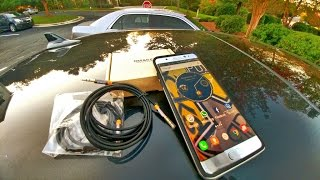 Audio brutal con e Note 7 y los cables de OMAKER 3.5mm en tu carro