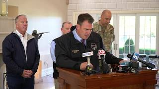 Oklahoma Weather: Gov. Stitt tours damaged areas