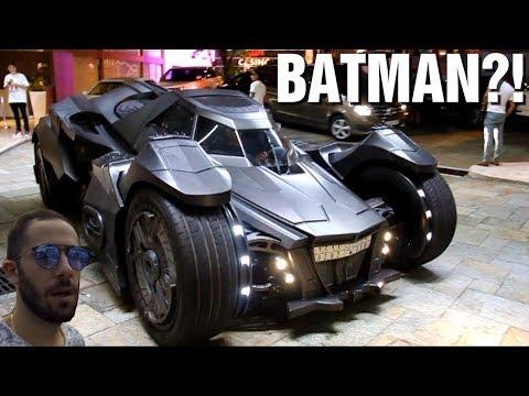 [VLOG] MOTEUR DE LAMBO dans une Batmobile à 2M€!!