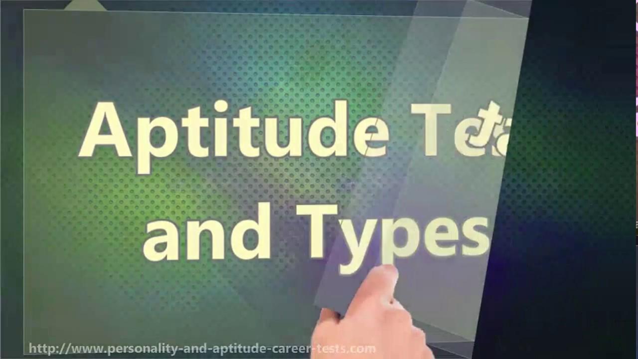 Aptitude Test and Types