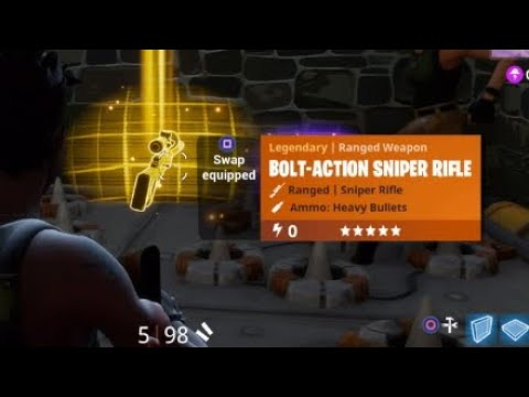 HOW TO GET A LEGENDARY GOLD BOLT-ACTION SNIPER RIFLE IN ...