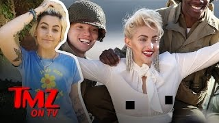 Paris Jackson Does A Photoshoot For Chanel and Looks Just Like Madonna! | TMZ TV
