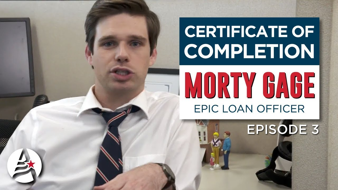 Certificate Of Completion Episode 3 Amcap Home Loans Youtube