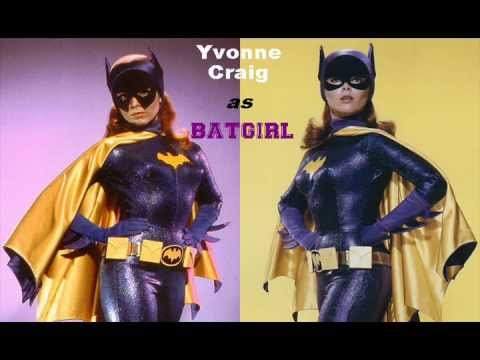 batgirl yvonne craig comparison youtube