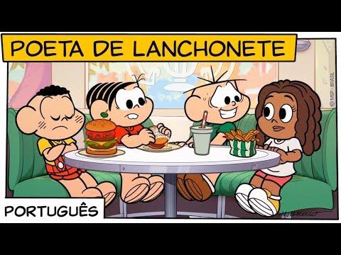 Poeta de Lanchonete | Turma da Mônica