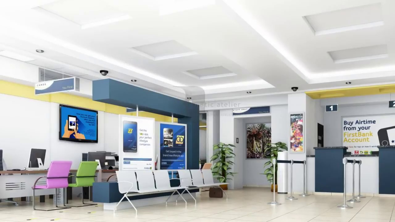 bank interior design   YouTube bank interior design