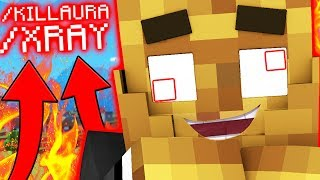 PRANK HACKING IN MINECRAFT MODDED - Minecraft Lucky Block Walls