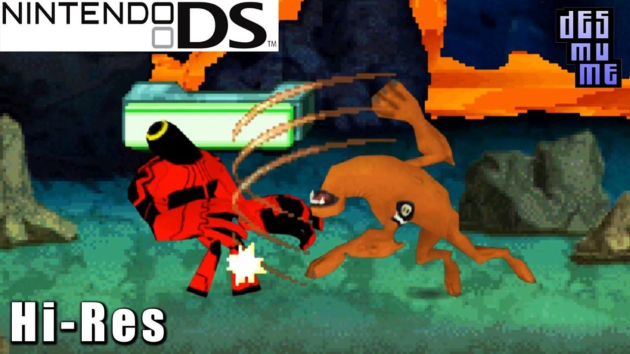 Ben 10 Omniverse - Nintendo DS Gameplay High Resolution (DeSmuME)