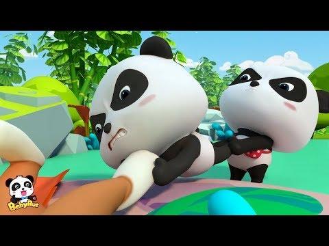 Bayi Panda Menemukan Gua Misterius  Kartun Anak   Bahasa Indonesia   BabyBus  