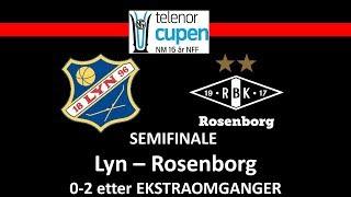 NM G16 Telenor Cup semifinale Lyn - Rosenborg 0-2 E.E.O
