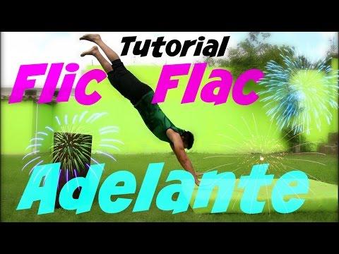 Como hacer flic flac ADELANTE | Paloma con 2 pies - Tutorial Gimnasia