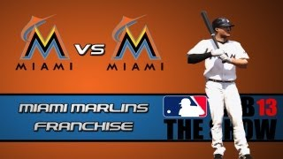MLB 13 The Show Franchise Mode: Miami Marlins - Introduction Time [EP1]