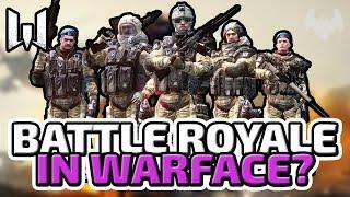 Battle Royale in Warface?! - ♠ Warface Battle Royale #001 ♠ - Deutsch German - Dhalucard