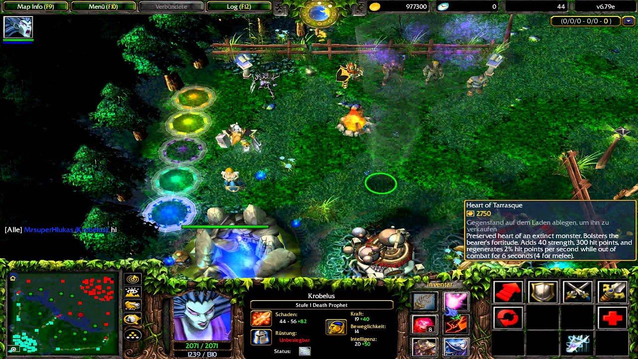 Warcraft 3 Dota Death Prophet Items YouTube