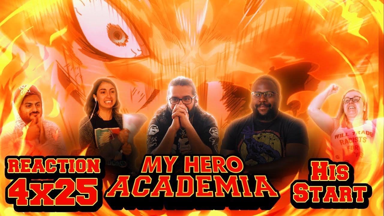 Download My Hero Academia - 4x25 His Start - Group Reaction