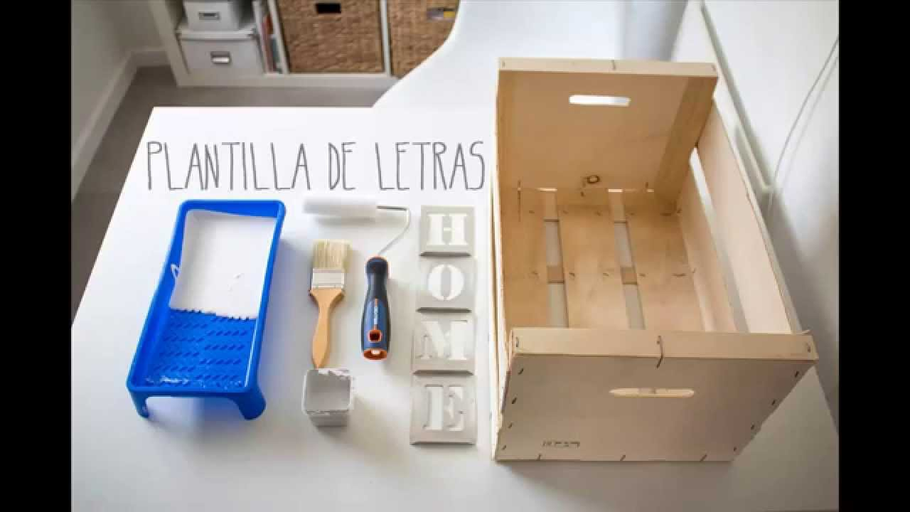 diy caja de madera de frutas diy wood fruit box