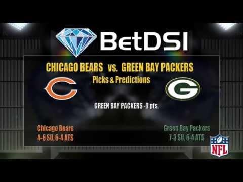 Chicago Bears Vs Green Bay Packers Odds | Free NFL Picks