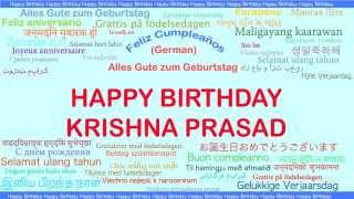 KrishnaPrasad   Languages Idiomas - Happy Birthday