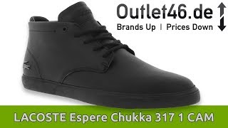 Lacoste Espere Chukka L Review L On Feet L Haul L Overview L Outlet46 Youtube