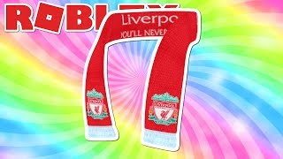 HOW TO GET LIVERPOOL FC SCARF - ROBLOX FREE PROMOCODE! [UPDATED]