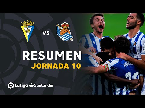 Cadiz Real Sociedad Goals And Highlights