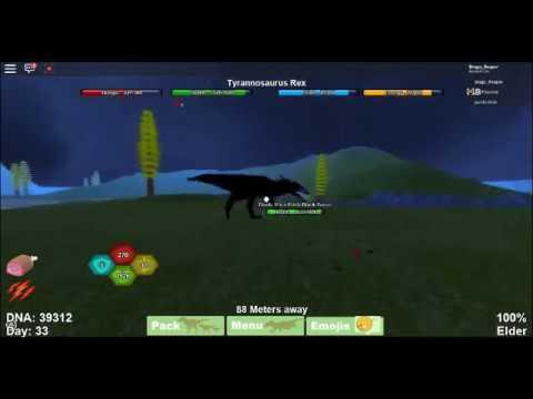 Tyrannosaurus Rex Vs Pitch Black Terror Battle Of Kings