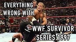 Episode #280: Everything Wrong With WWF Survivor Series 1997