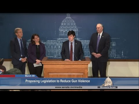 GOP, DFL Senators Propose Legislation to Address Gun Violence