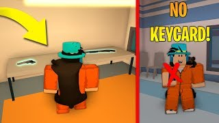 HOW TO GET GUNS IN JAILBREAK WITHOUT KEYCARD! NEW GLITCH! (Roblox)
