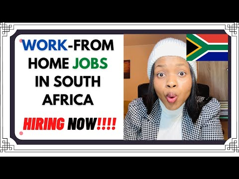 WORK FROM HOME JOBS IN SOUTH AFRICA (HIRING NOW)