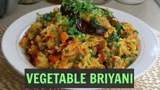 HOW TO MAKE VEGGIE BRIYANI l Instant pot recipe | easy recipe| by kaurs kitchen
