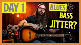 Can you change your blues guitar technique in only 5 days? (1/5)