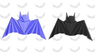 Origami Halloween Bat | Origami Arts