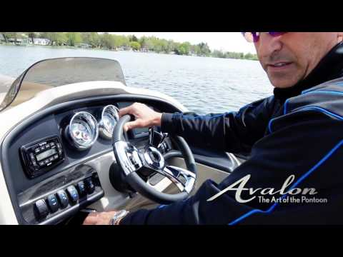 6) How to Use Dashboard Controls on a Pontoon | 2017 Avalon Luxury Pontoons