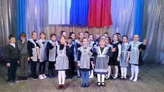 Музыкальное поздравление с 23 февраля от учеников  2-а класса МКОУ СОШ №3.