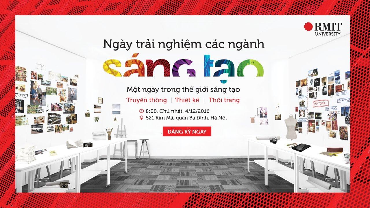 Ngày trải nghiệm ngành học Sáng tạo (Hà Nội 04/12/2016)   RMIT Vietnam