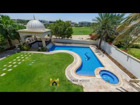 Villa In Emirates Hills To Rent - The Noble House Real Estate Presents   TNH R 1211