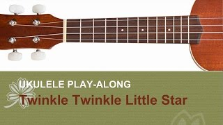 BEST Ukulele Lesson - Twinkle Twinkle Little Star - Ukulele Solo Play A-Long w/TAB