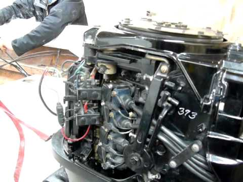 Mercury 75 HP 1986 YouTube