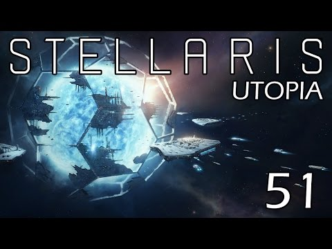 Stellaris: Utopia: The Flesh is Weak Part 51 - Finding Cybrex Alpha, Temporarily
